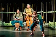 Trygve Beddari, Anne margaret Nilsen og Astrid Serine Hoel. Foto: Lars Opstad. Unge Viken Teater